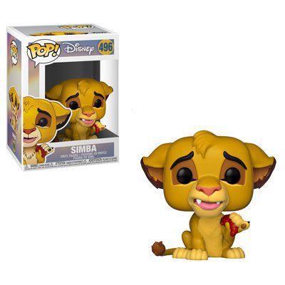 Funko Pop! Simba: O Rei Leão (The Lion King) #496 - Funko