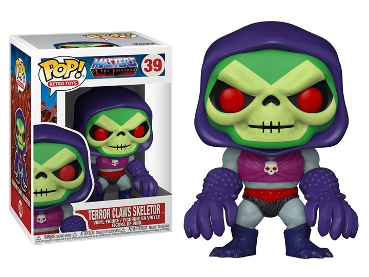 PRÉ VENDA: Funko Pop! Skeletor (with Terror Claws): Mestres do Universo (Masters of the Universe) #39 - Funko