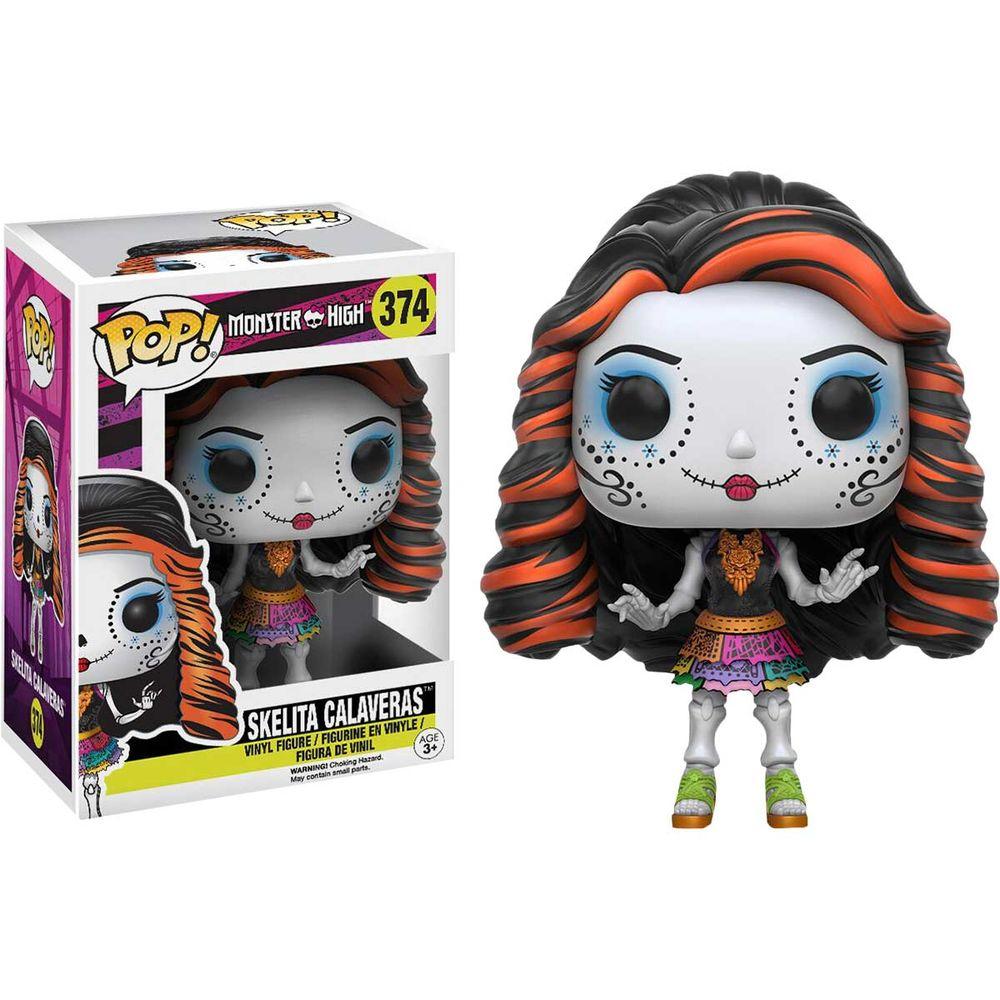 Pop! Skelita Calaveras: Monster High (Exclusivo) #374 - Funko