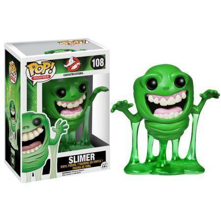 Funko Pop Slimer: Caça-Fantasmas (Ghostbusters) #108 - Funko