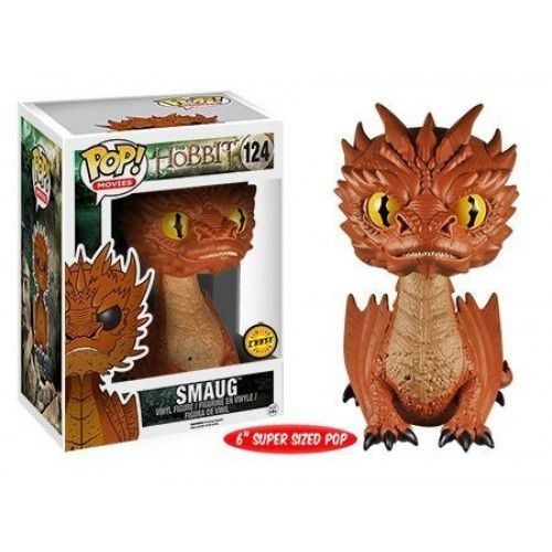Pop! Smaug Dragon (Chase): The Hobbit #124 - Funko