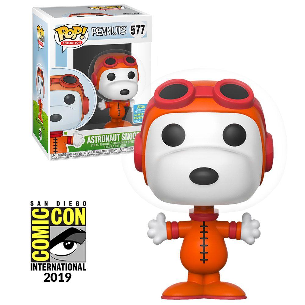 Pop! Snoopy Astronauta: Peanuts (Exclusivo SDCC) #577 - Funko