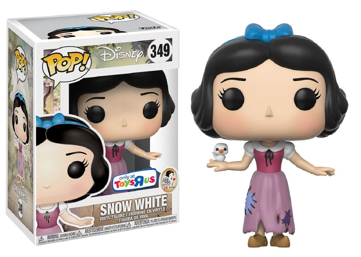 Funko Pop! Snow White (Branca de Neve): Disney (Exclusivo) #349 - Funko