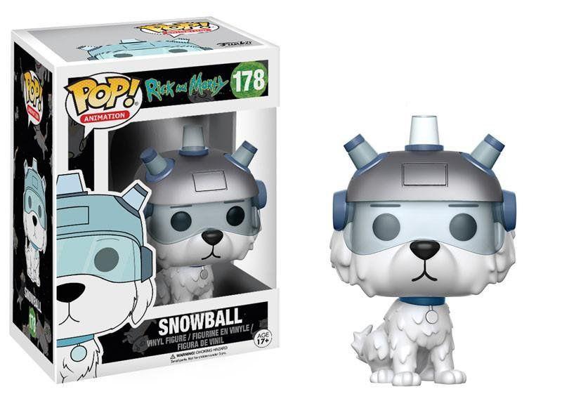 Funko Pop Snowball: Rick and Morty #178 - Funko