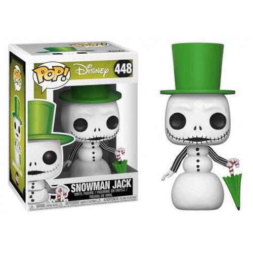 Funko Pop! Snowman Jack: O Estranho Mundo de Jack (Nightmare Before Christmas) #448 - Funko