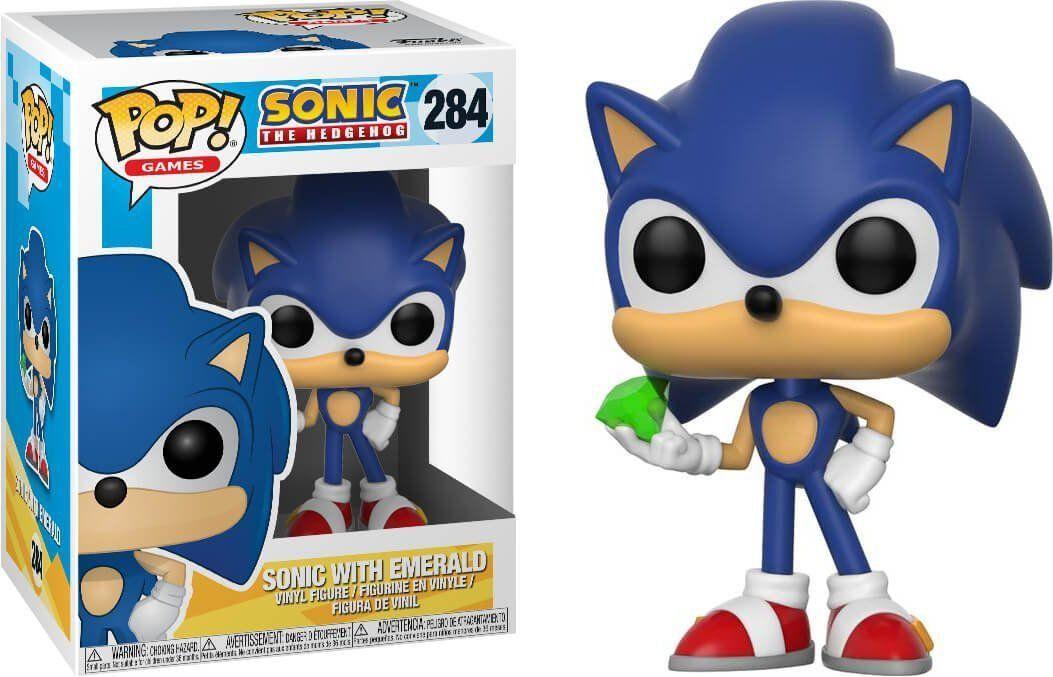 Funko Pop Sonic (Emerald): Sonic The Hedgehog #284- Funko