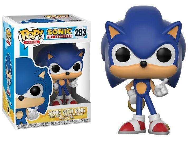 Funko Pop! Sonic (Gold Ring): Sonic The Hedgehog #283 - Funko