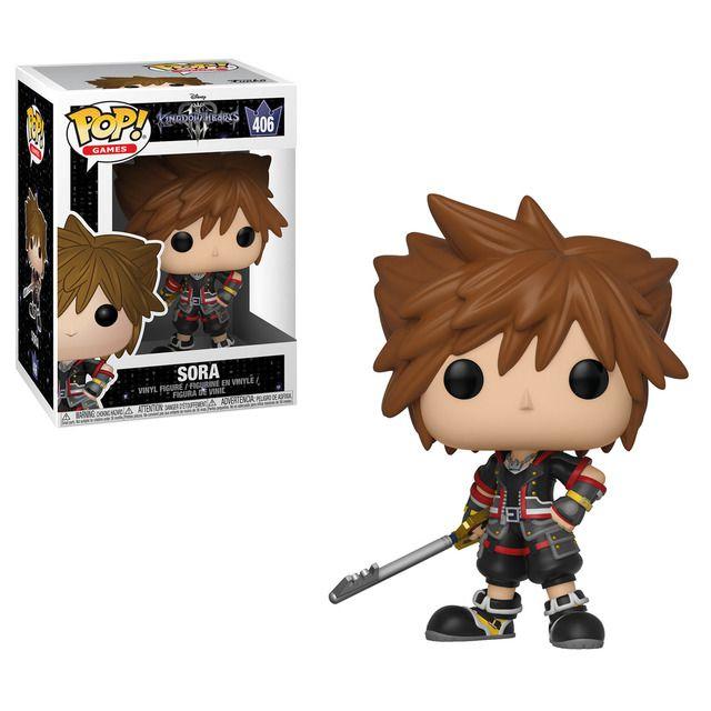Funko Pop! Sora: Kingdom Hearts (Disney) #406 - Funko