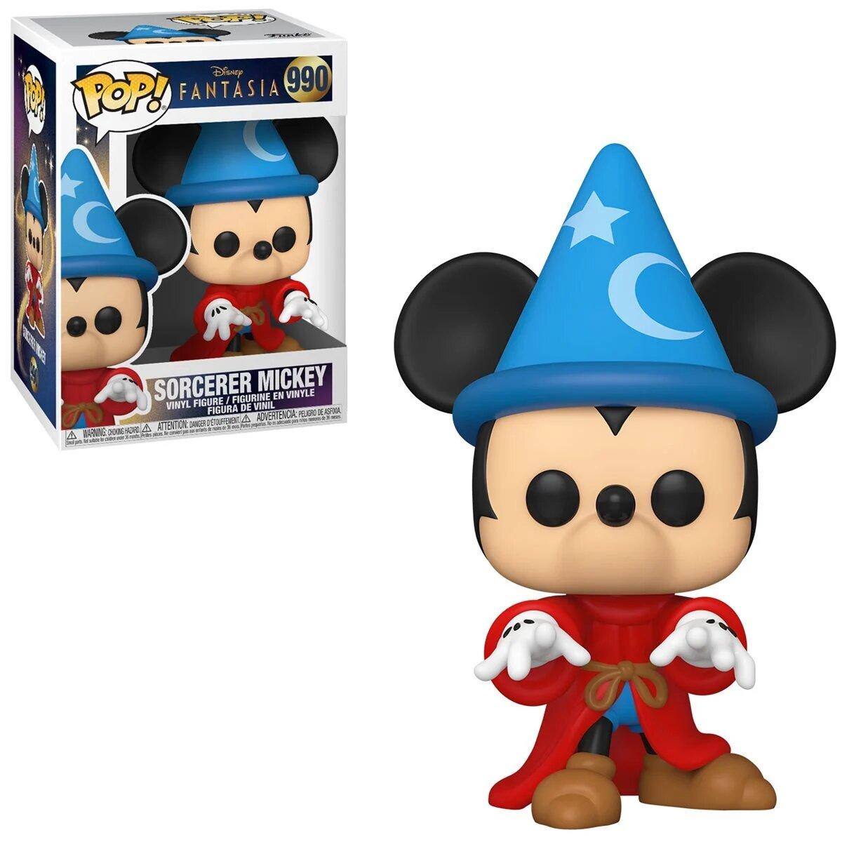 Funko Pop! Sorcerer Mickey: Disney Fantasia 80th Anniversary #990 - Funko