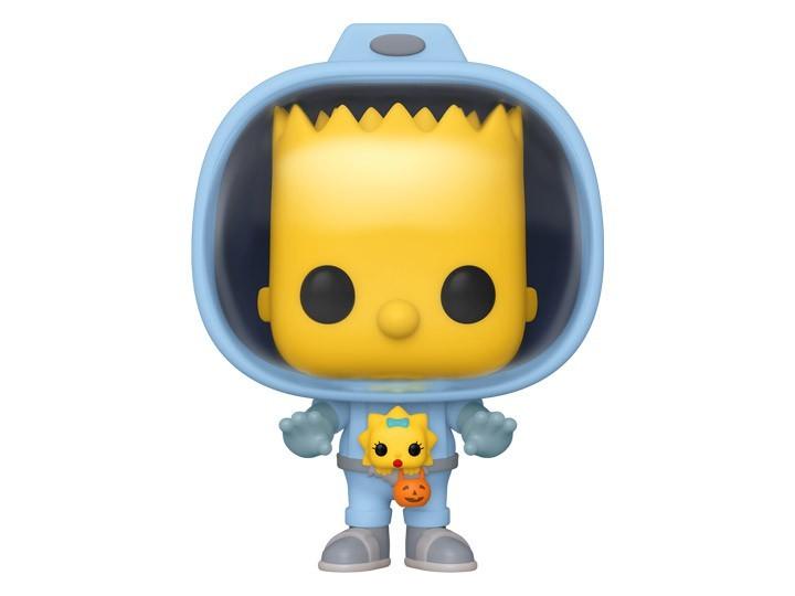 Funko Pop! Spaceman Bart: Os Simpsons Casa de Horror: ( The Simpsons Treehouse of Horror ) #1026 - Funko