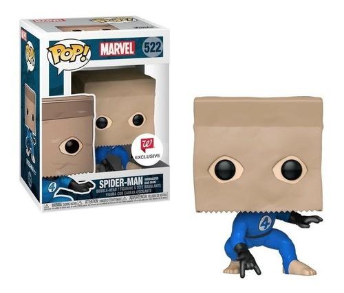 Funko Pop! Spider-man (Bombastic Bag-Man): Marvel Comicis #522 - Funko