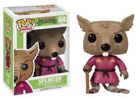 Funko Pop Splinter: Tartarugas Ninja #64 - Funko