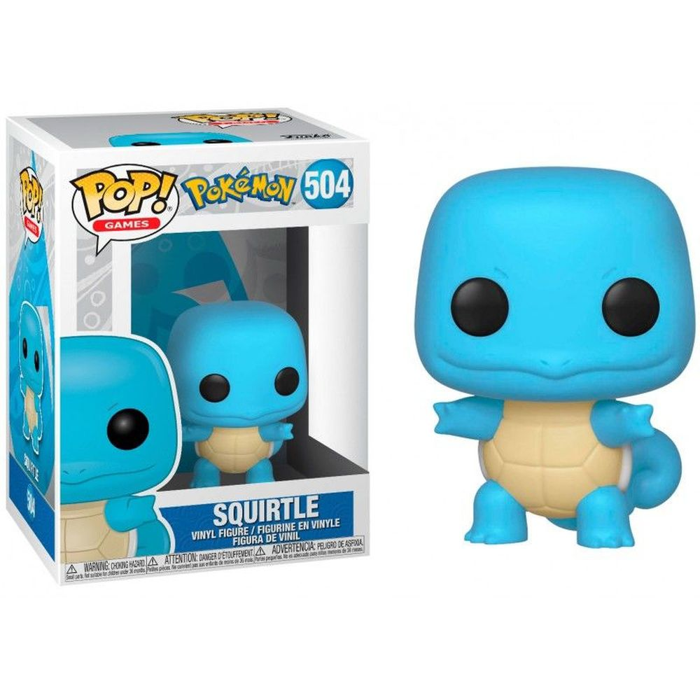 Funko Pop! Squirtle: Pokémon #504 - Funko