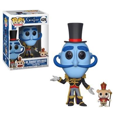 Funko Pop! Sr. Bobinsky com camundongo: Coraline #426 - Funko
