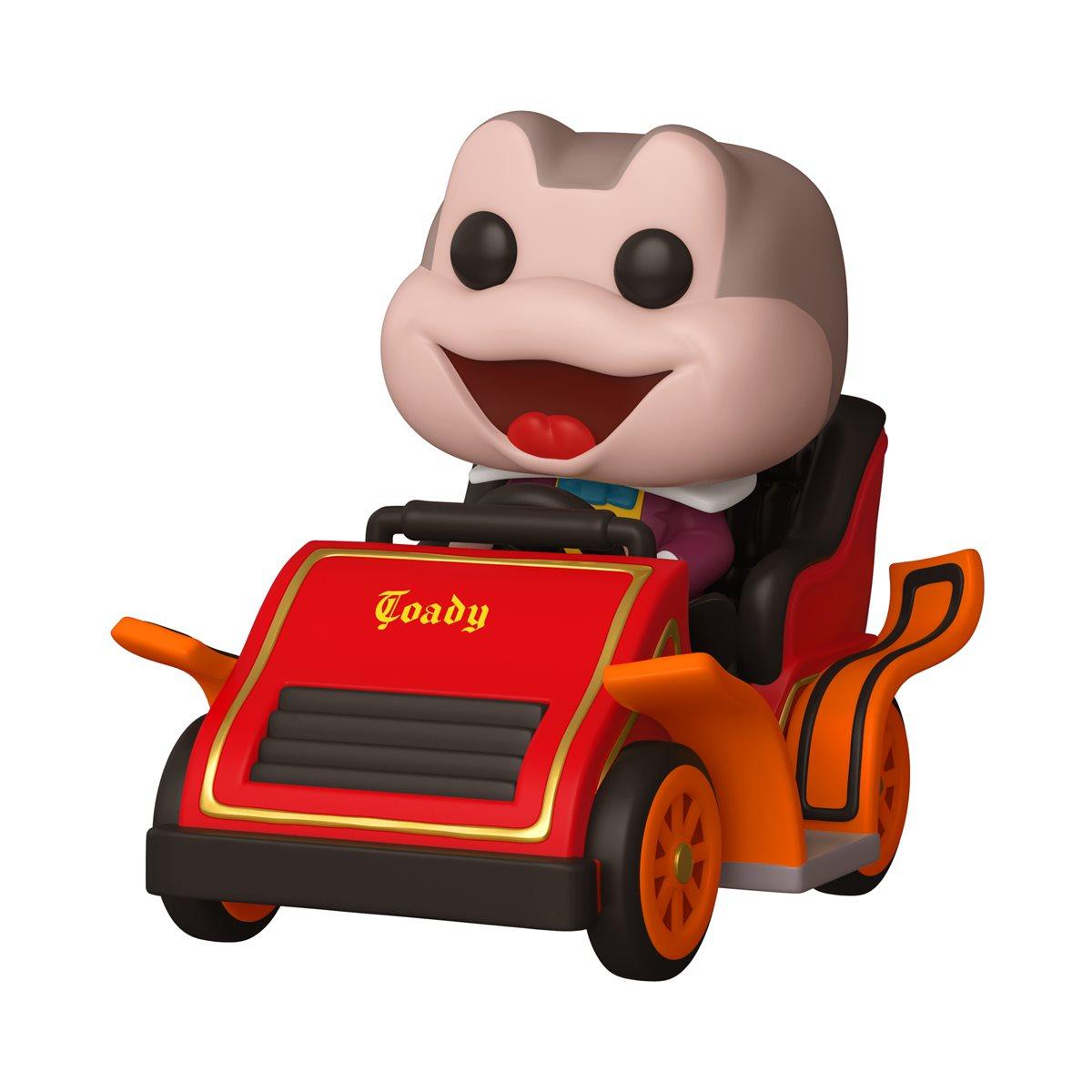 Funko Pop! Sr. Sapo na Atração de Passeio Selvagem do Sr. Toad: Aniversário de 65 anos da Disneylândia #89 - Funko