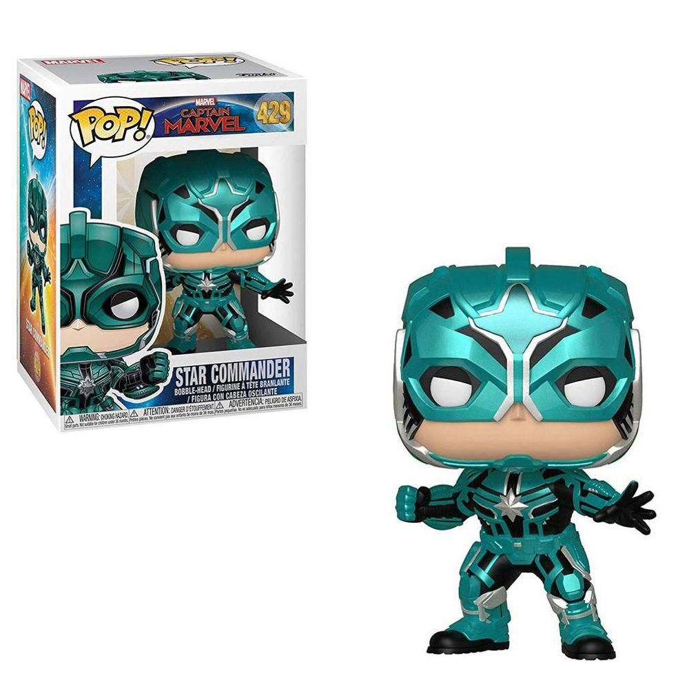 Funko Pop! Star Commander: Capitã Marvel (Captain Marvel) #429 - Funko