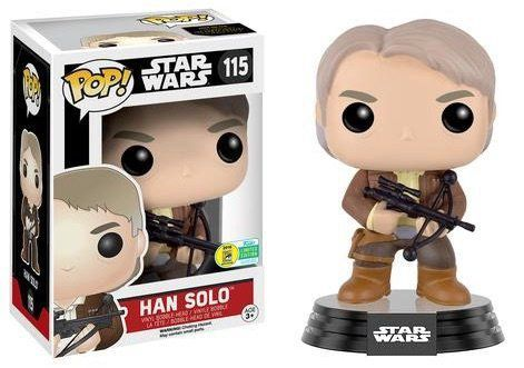 Funko POP! Star Wars Han Solo - 2016 Summer Convention Exclusive - Funko