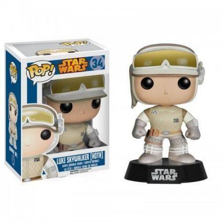 Funko Pop Luke Skywalker (Hoth): Star Wars #34 - Funko