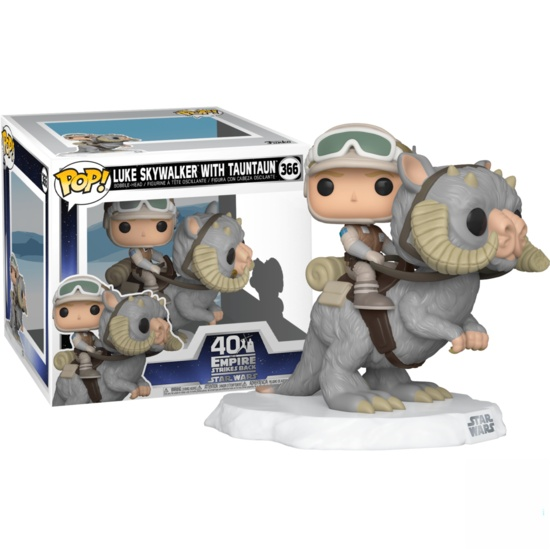 Funko POP Star Wars:Luke Skywalker With Tauntaun #366 - 40th The Empire Strikes Back Star Wars