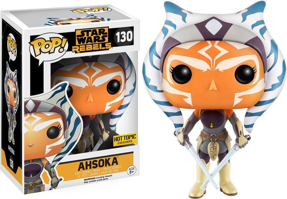 Funko POP! Star Wars Rebels - Ahsoka - Exclusivo - Funko