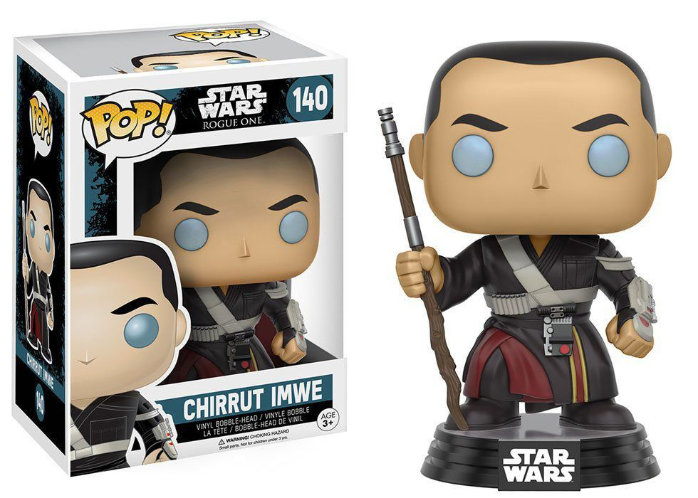Funko Pop! Chirrut Imwe: Star Wars Rogue One #140 - Funko