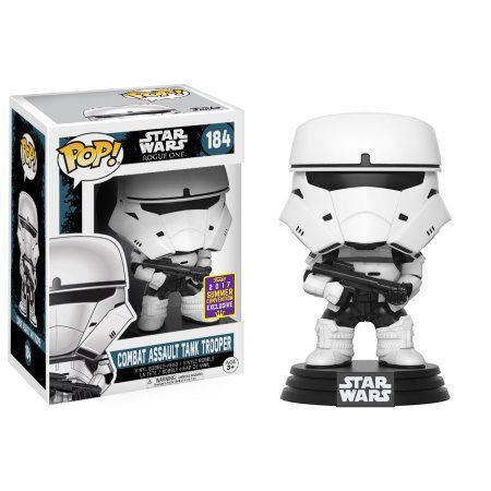 Pop! Combat Assault Tank Trooper: Star Wars: Rogue One #184 Exclusivo (Apenas Venda Online)