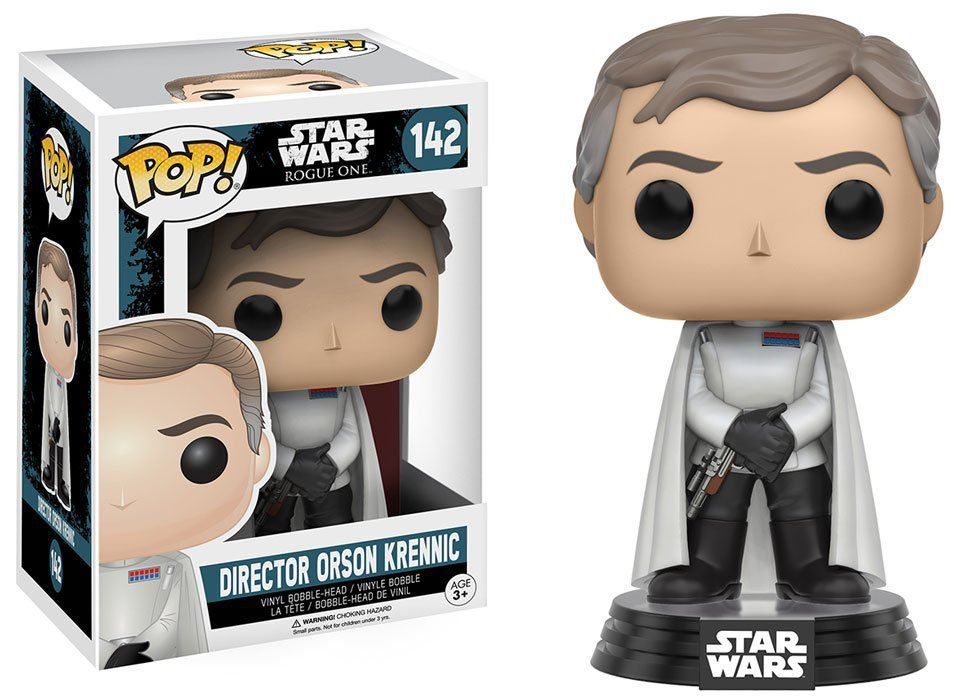 Funko Pop Director Orson Krennic: Star Wars Rogue One #142 - Funko Pop