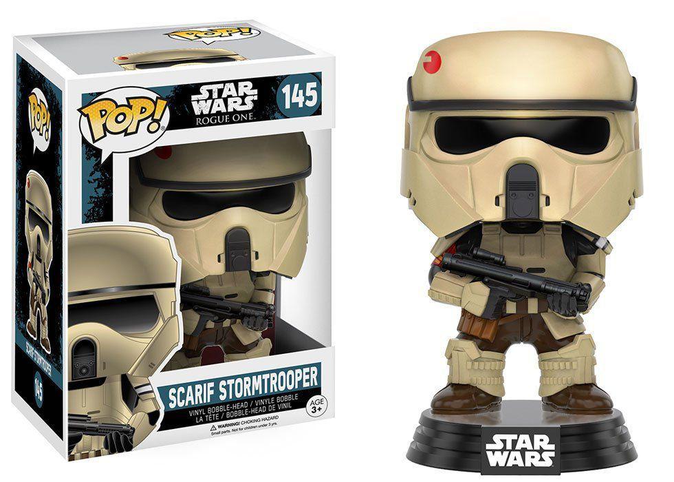Funko Pop Scarif Stormtrooper: Star Wars Rogue One #145 - Funko