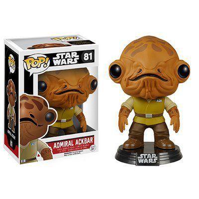Funko Pop! Star Wars The Force Awakens Admiral Ackbar #81 - Funko