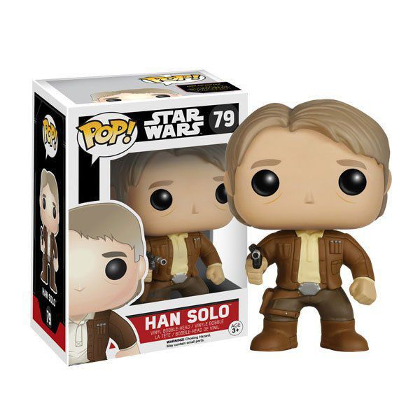 Funko Pop Han Solo: Star Wars: O Despertar da Força #79 - Funko