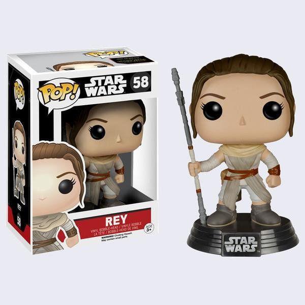 Funko POP! Star Wars The Force Awakens Rey #58 - Funko