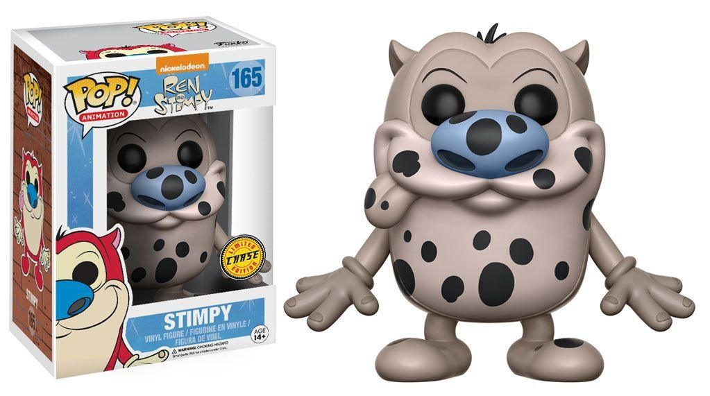 Pop Stimpy (Chase): Ren And Stimpy #165 - Funko