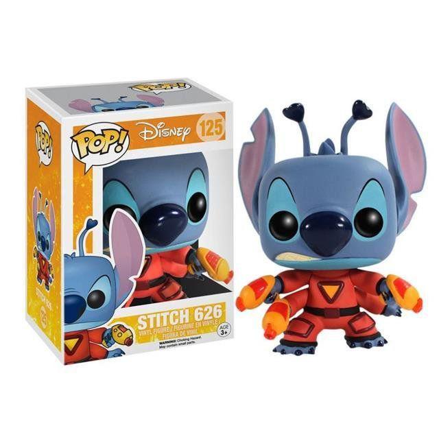 Funko Pop! Stitch (626): Lilo & Sticth (Disney) #125 - Funko