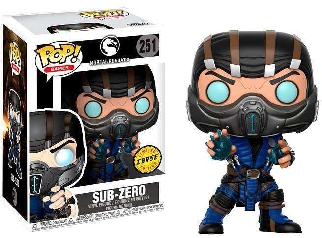 Funko Pop! Sub-Zero (Chase): Mortal Kombat X #251 - Funko