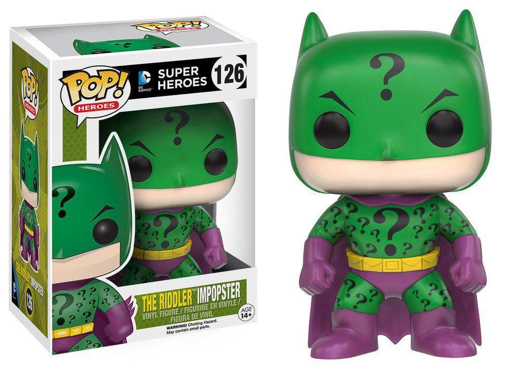 Funko Pop Riddler Impopster: Super Heroes #126 - Funko