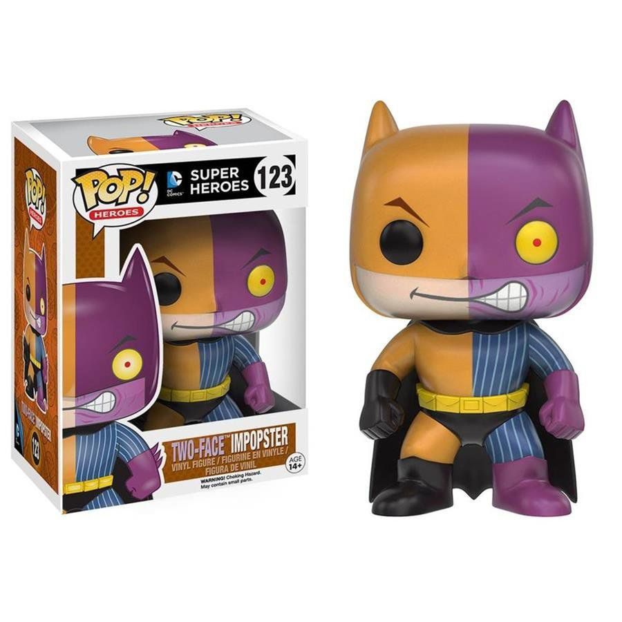 Funko Pop Two Face Impopster: Super Heroes #123 - Funko