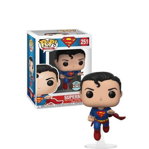 Pop! Super-Homem (Superman): DC Comics (Exclusivo) #251 - Funko