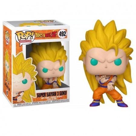 Funko Pop! Super Saiyan 3 Goku: Dragonball Z #492 - Funko