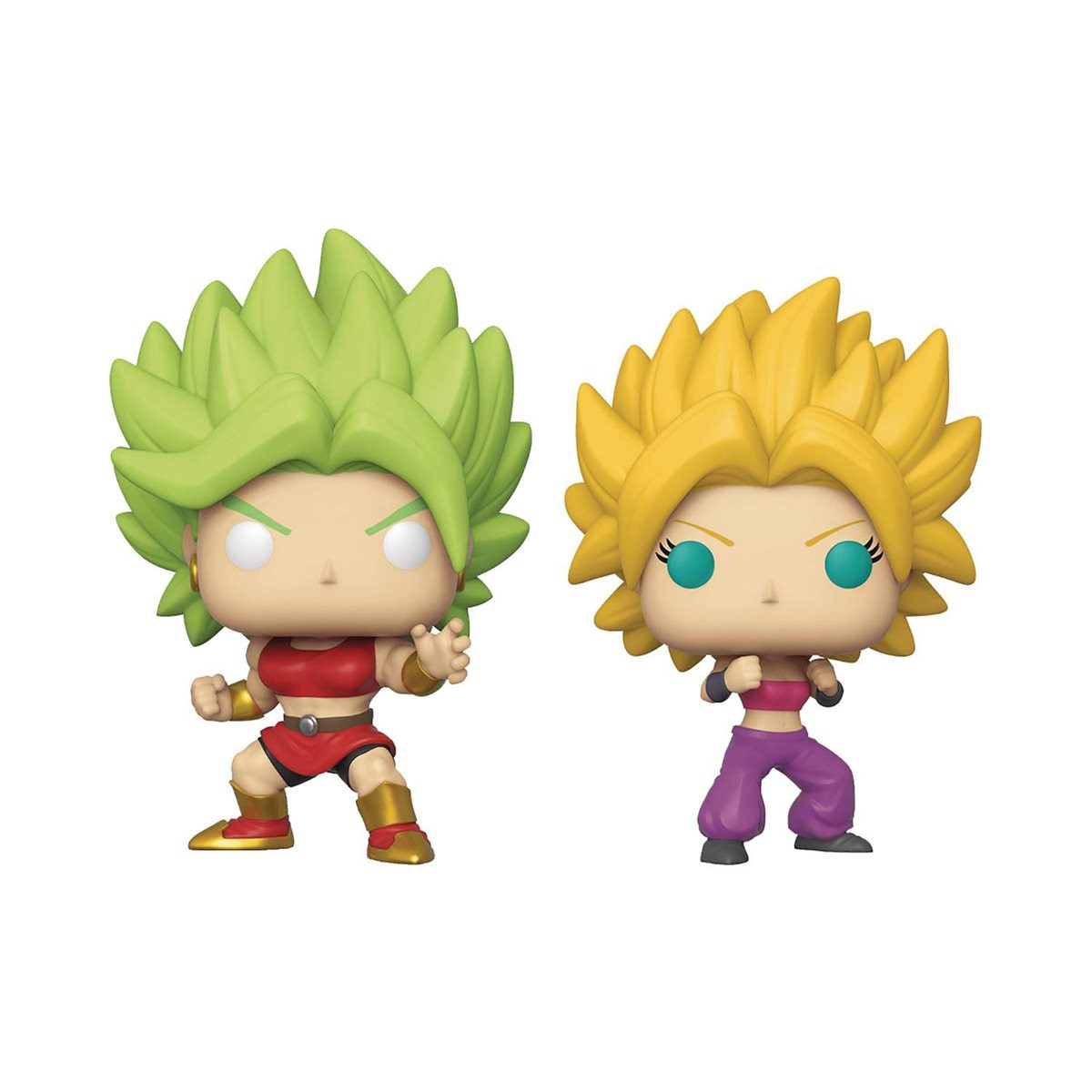 PRÉ VENDA: Funko Pop! Super Saiyan Kale e Super Saiyan Caulifla: Dragon Ball Super ( Exclusivo) #02 - Funko