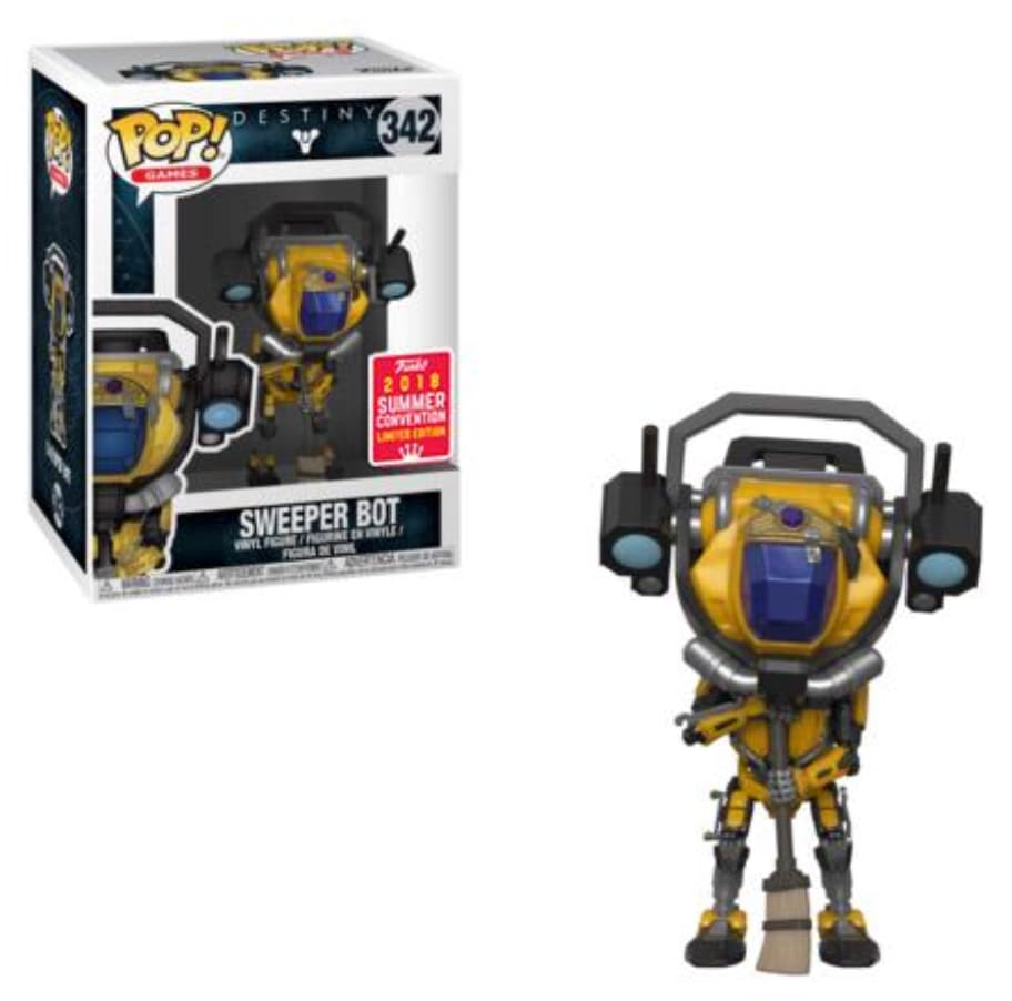 Pop! Sweeper Bot: Destiny (Exclusivo SDCC 2018) #342 - Funko