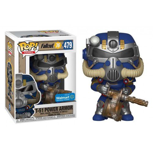 Pop! T-51 Power Armor: Fallout 76 (Exclusivo) #479 - Funko