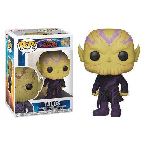 Funko Pop! Talos: Capitã Marvel (Captain Marvel) #431 - Funko (Apenas Venda Online)