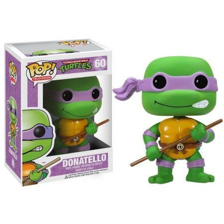 Funko Pop Donatello: Tartarugas Ninja #60 - Funko