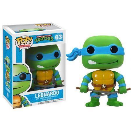 Funko Pop Leonardo: Tartarugas Ninja #63 - Funko
