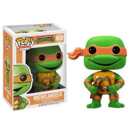 Funko Pop Michelangelo: Tartarugas Ninja #62 - Funko