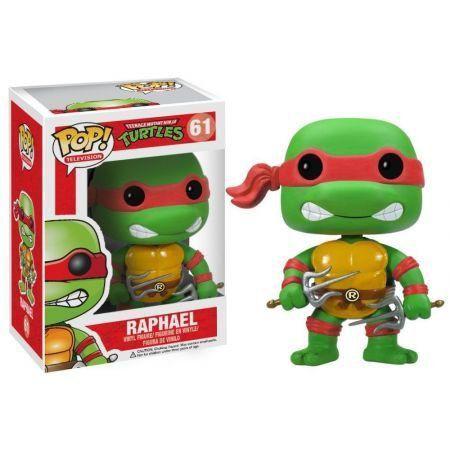 Funko Pop Raphael: Tartarugas Ninja #61 - Funko