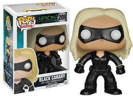 Funko Pop Canário Negro (Black Canary): Television Arrow #209 - Funko