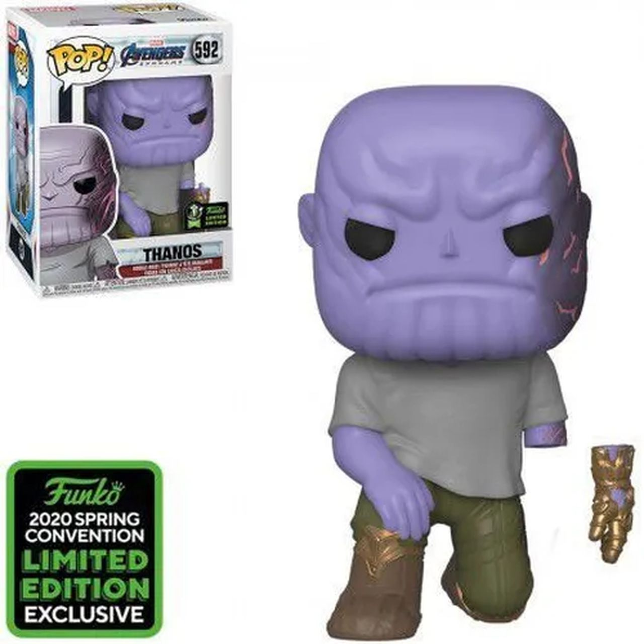 Pop! Thanos: Vingadores Ultimato (Avengers End Game) Exclusivo #592 - Funko
