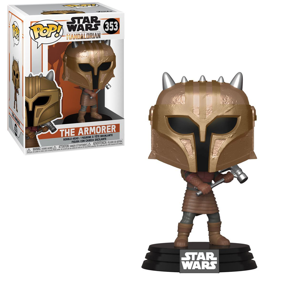 PRÉ VENDA: Funko Pop! The Armorer: The Mandalorian (Star Wars) Disney+ #353 - Funko