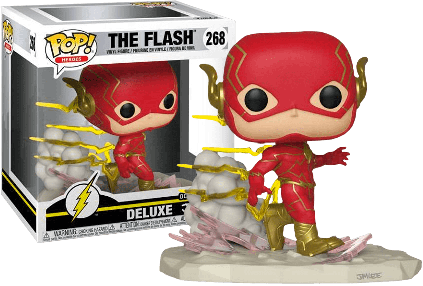 Pop! The Flash (Deluxe): DC Collection Jim Lee (Exclusivo) #268 - Funko